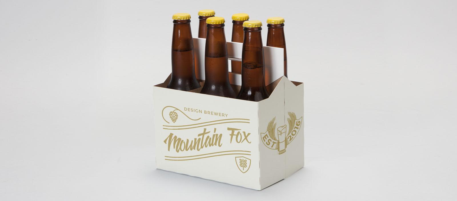 Mountain Fox Design 6 Pack Mockup Mountain Fox Design